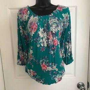 Lauren Conrad floral top